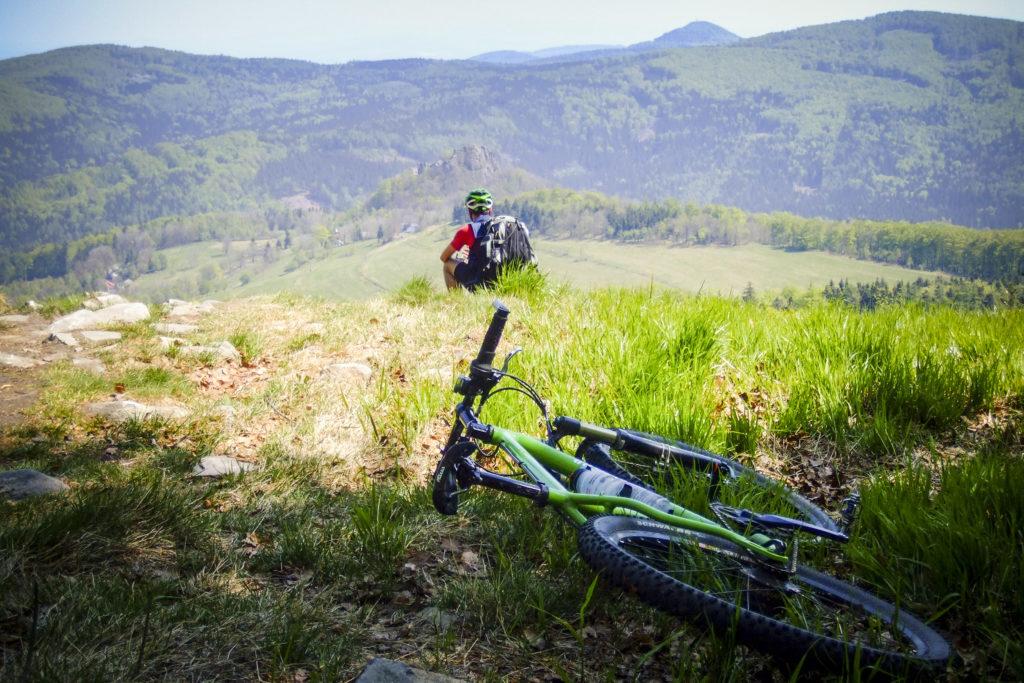 Blick vom Tannenberg zum Tollenstein