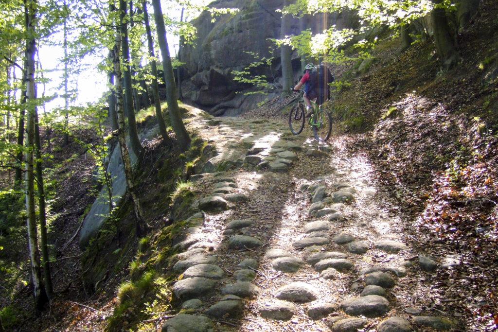 nach Altendorf gehts richtig steil hinauf
