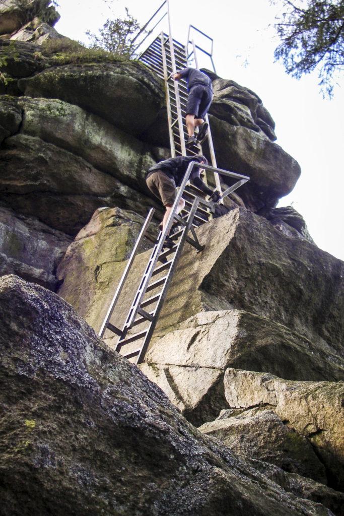 Kletterein am Großen Waldstein