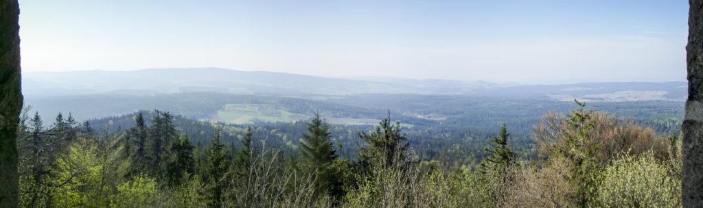 Panorama auf der Kösseine