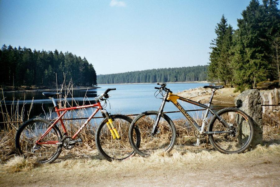 Retrobikes im Harz