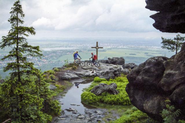 auf dem Töpfer - mit weitem Blick nach Görlitz