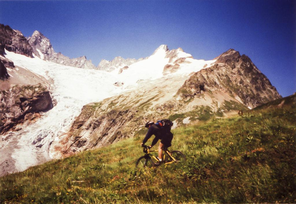 mit herrlicher Gletscherlandschaft
