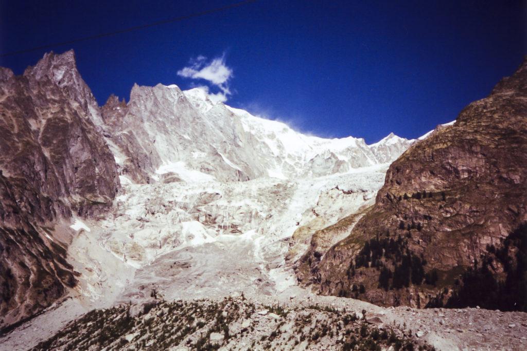 am wunderschönen und beeindruckenden Col de la Seigne