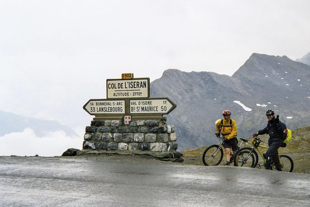 50km Auffahrt zum Col de L'Iseran