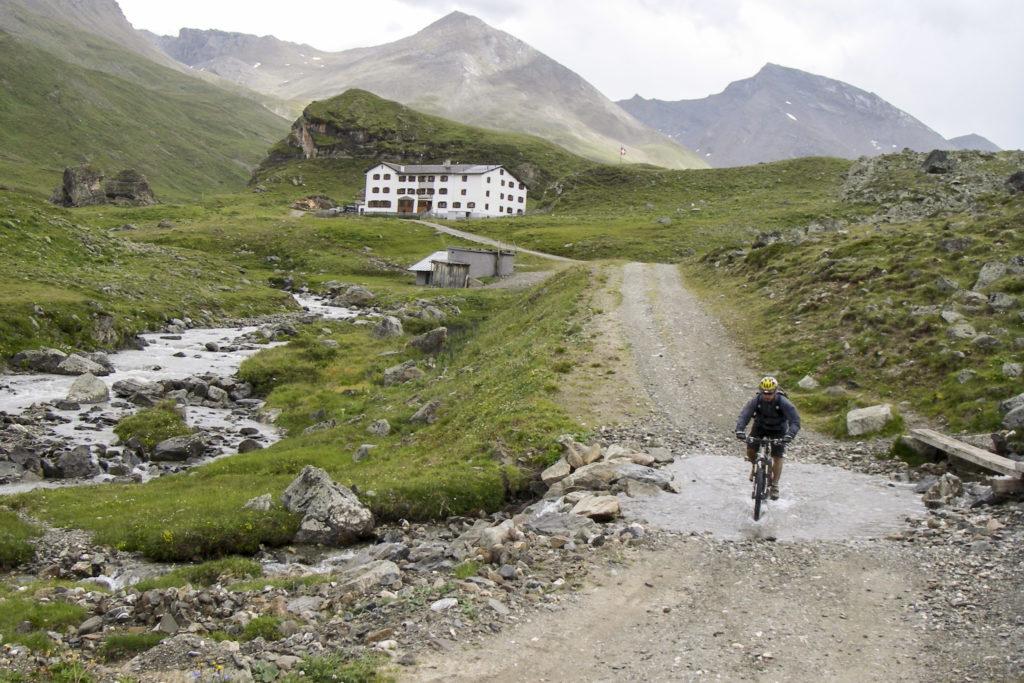 Heimfahrt von der Heidelberger Hütte
