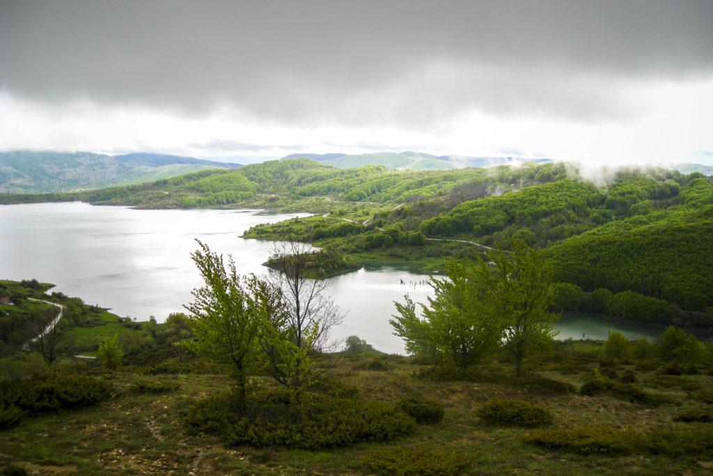 am Lago di Campotosto