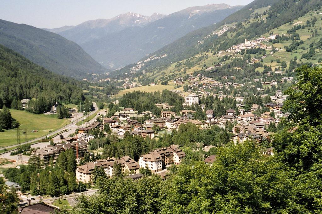 Blick auf Ponte di Legno
