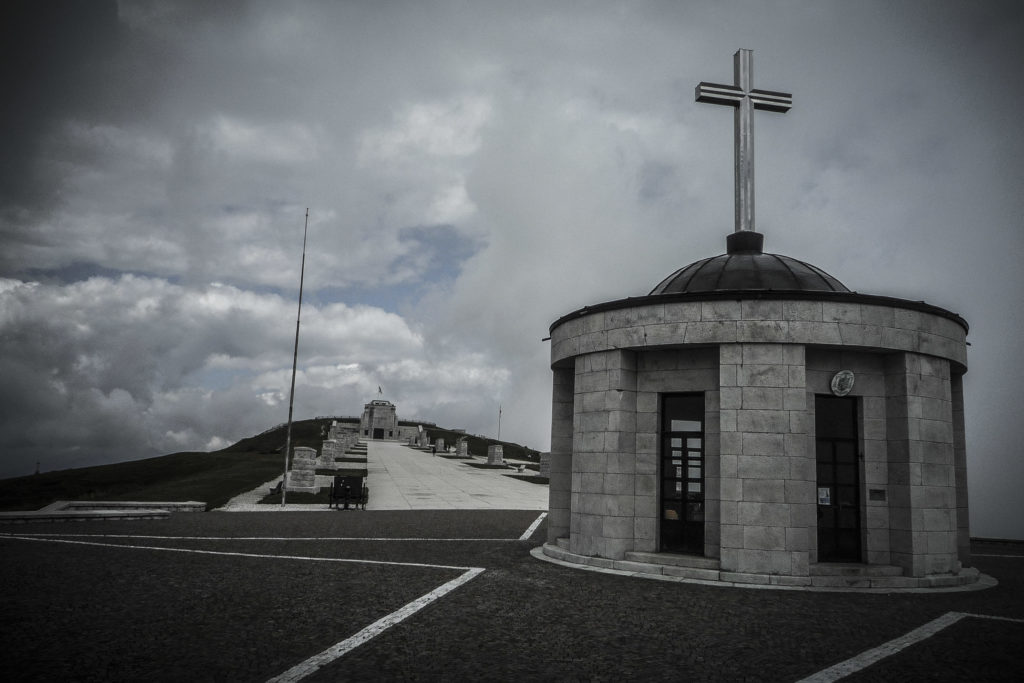 Kriegsdenkmal auf dem Monte Grappa