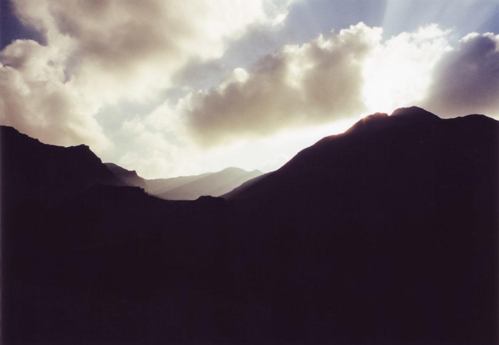 Sonnenuntergang am Siedeljoch