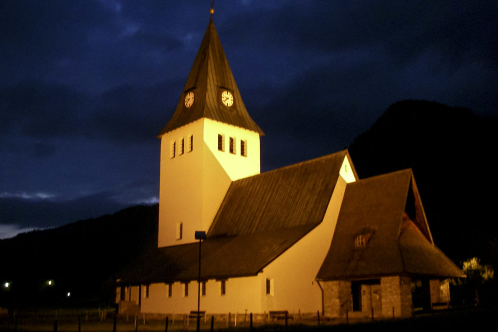 die Kirche in Bad Oberdorf