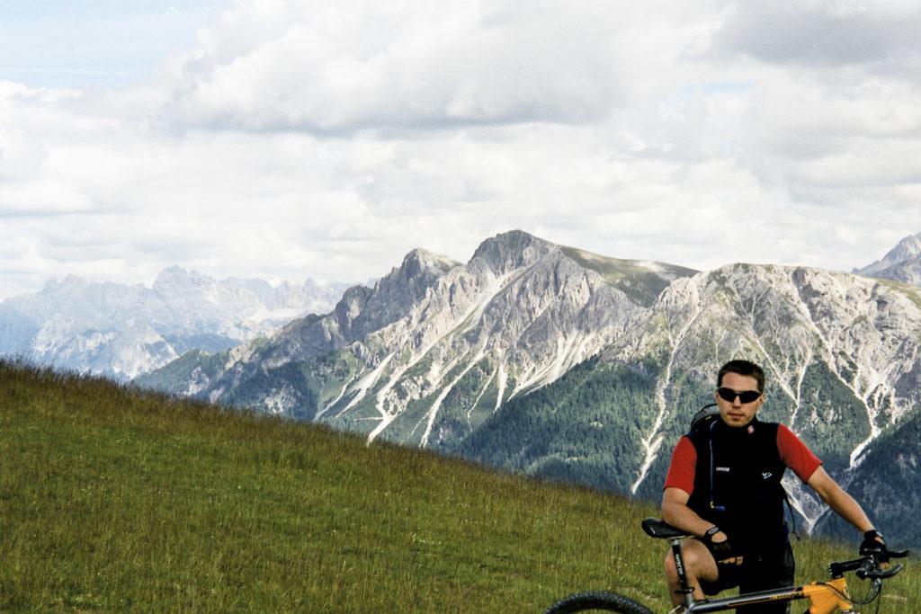 Ankunft in den Dolomiten