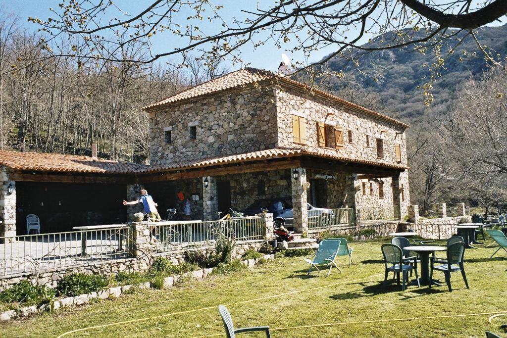 das idyllische Hotel bei Olmi Capella