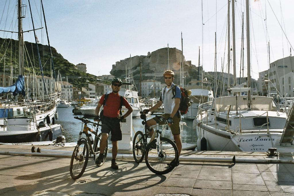 Zielfoto vom Korsika-Cross in Bonifacio