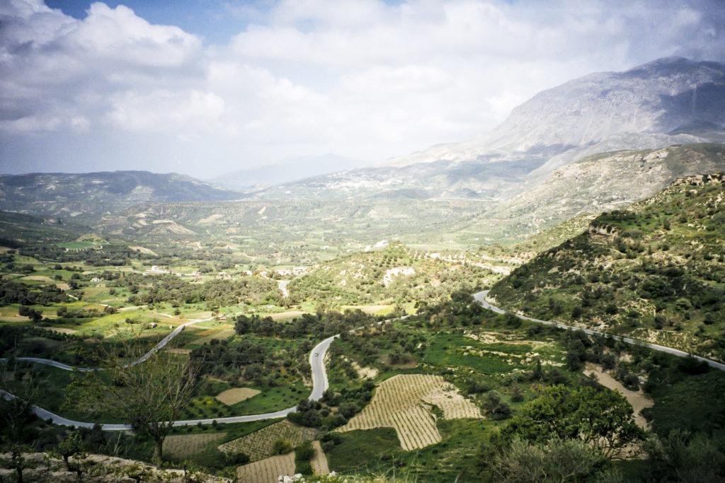 Auffahrt von Gergeri nach Agia Varvara