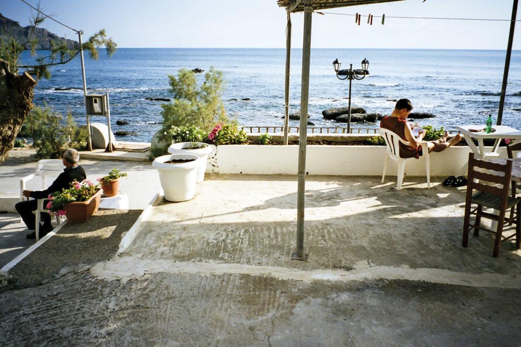 Entspannung am Strand von Plakias