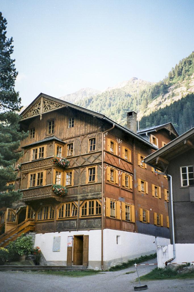 die Breitlahner Hütte