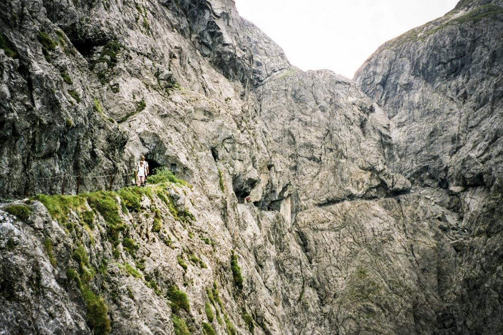 die berühmte Val d'Uina