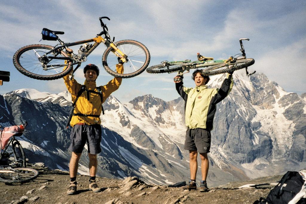 unser erster 3000er Pass - das Madritschjoch