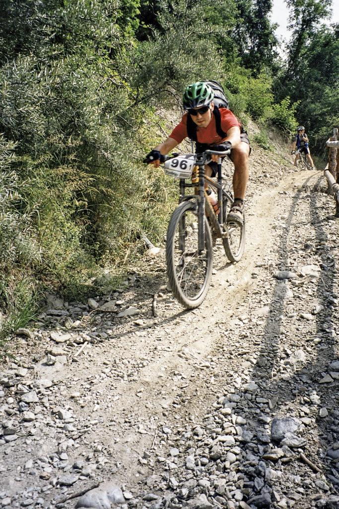 Downhillstrecke nach Landeck
