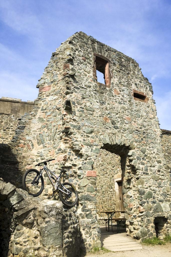 Besichtigung der Burgruine Frankenstein