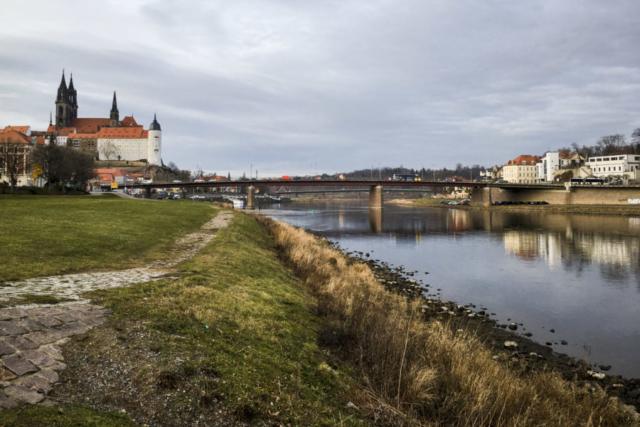 Den Abschluss bildet die Mündung der Triebisch in die Elbe in Meissen