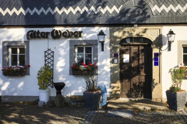 das Hotel Alter Weber