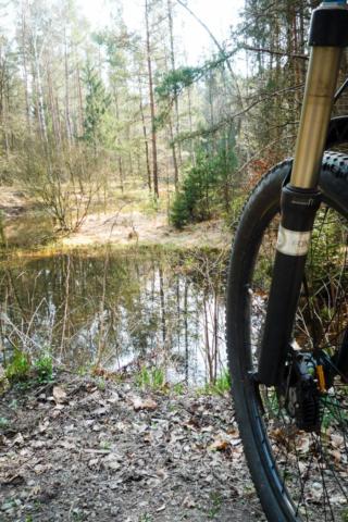 ansonsten war die Runde staubtrocken... kaum Wasser in Sicht
