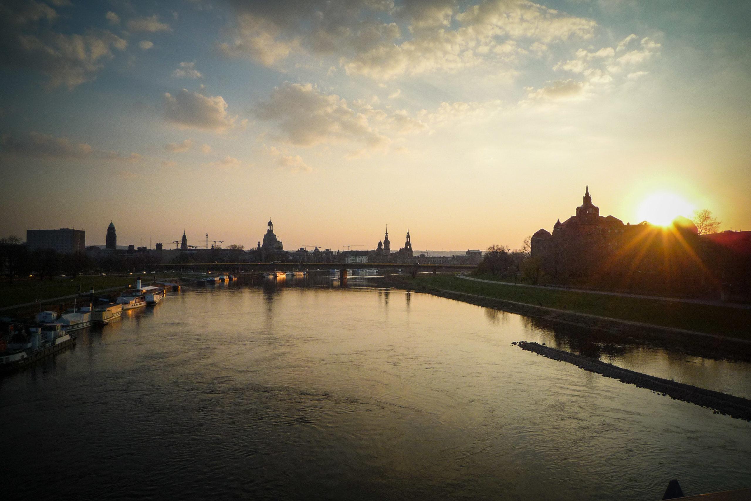 Das Grand Finale mit Blick zur Altstadt