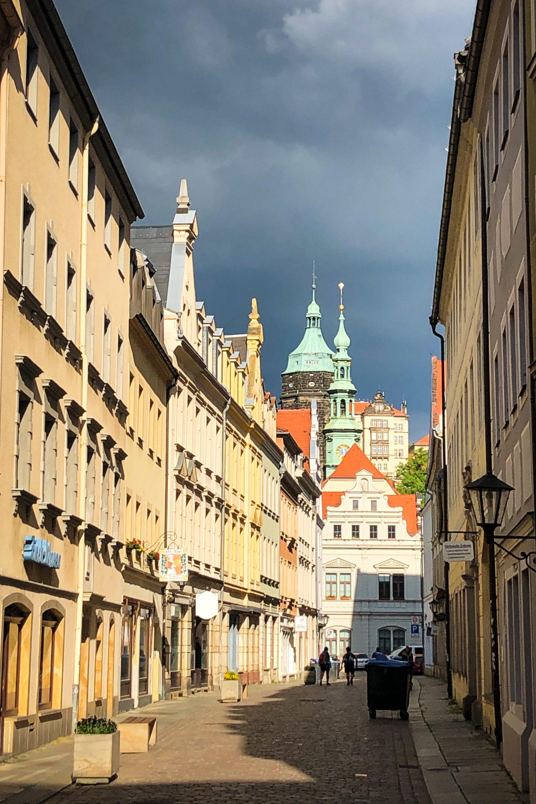 die historische Altstadt von Pirna