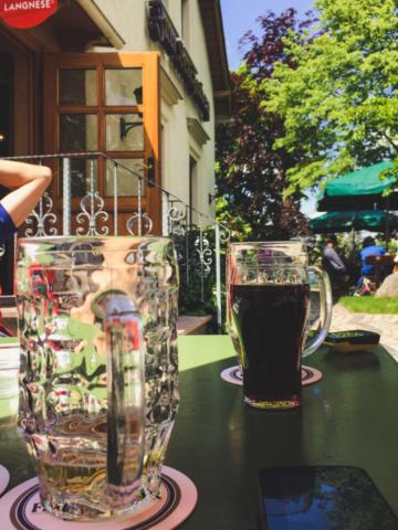 warten auf das Essen auf dem Lerchenberg