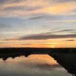 perfekter Sonnenaufgang zum Start in den orbit360 Sachsen