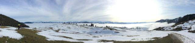 Und der Ausblick bis zum Großvenediger war fantastisch.