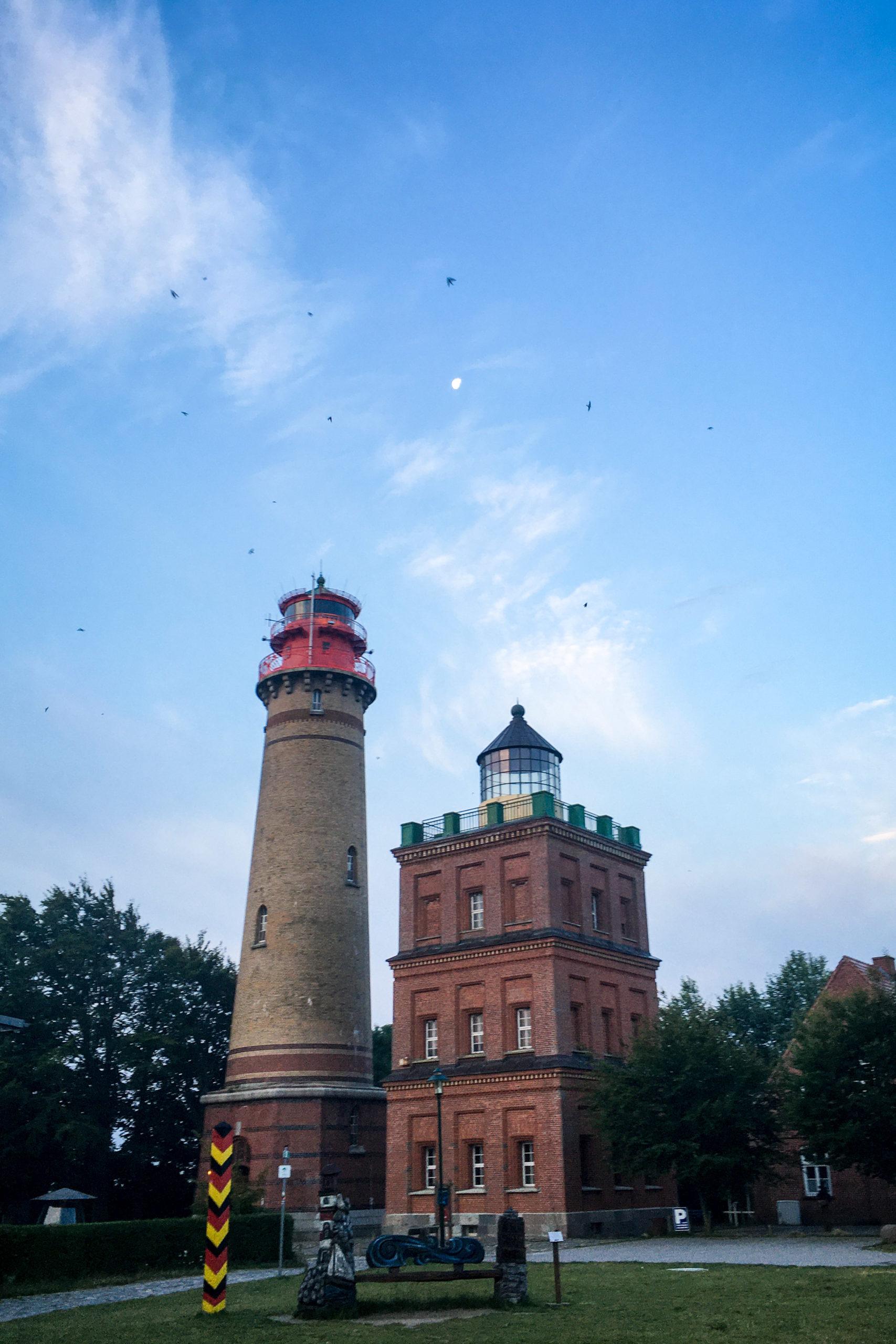 Leuchtturm, nebst Getier und Mond