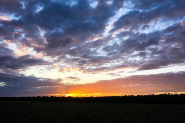 was für ein finaler Sonnenuntergang