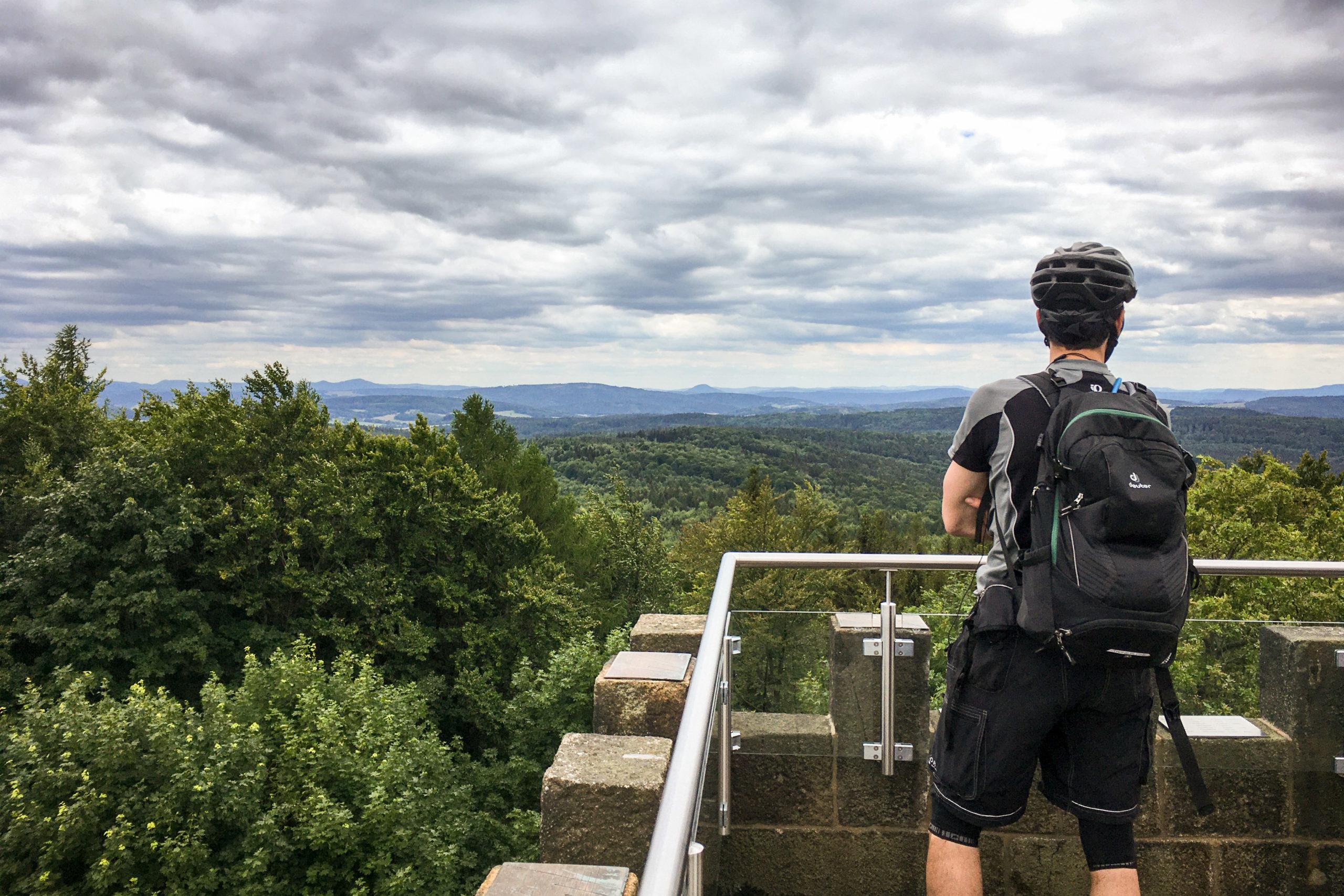 toller Ausblick ins Umland der Oberlausitz