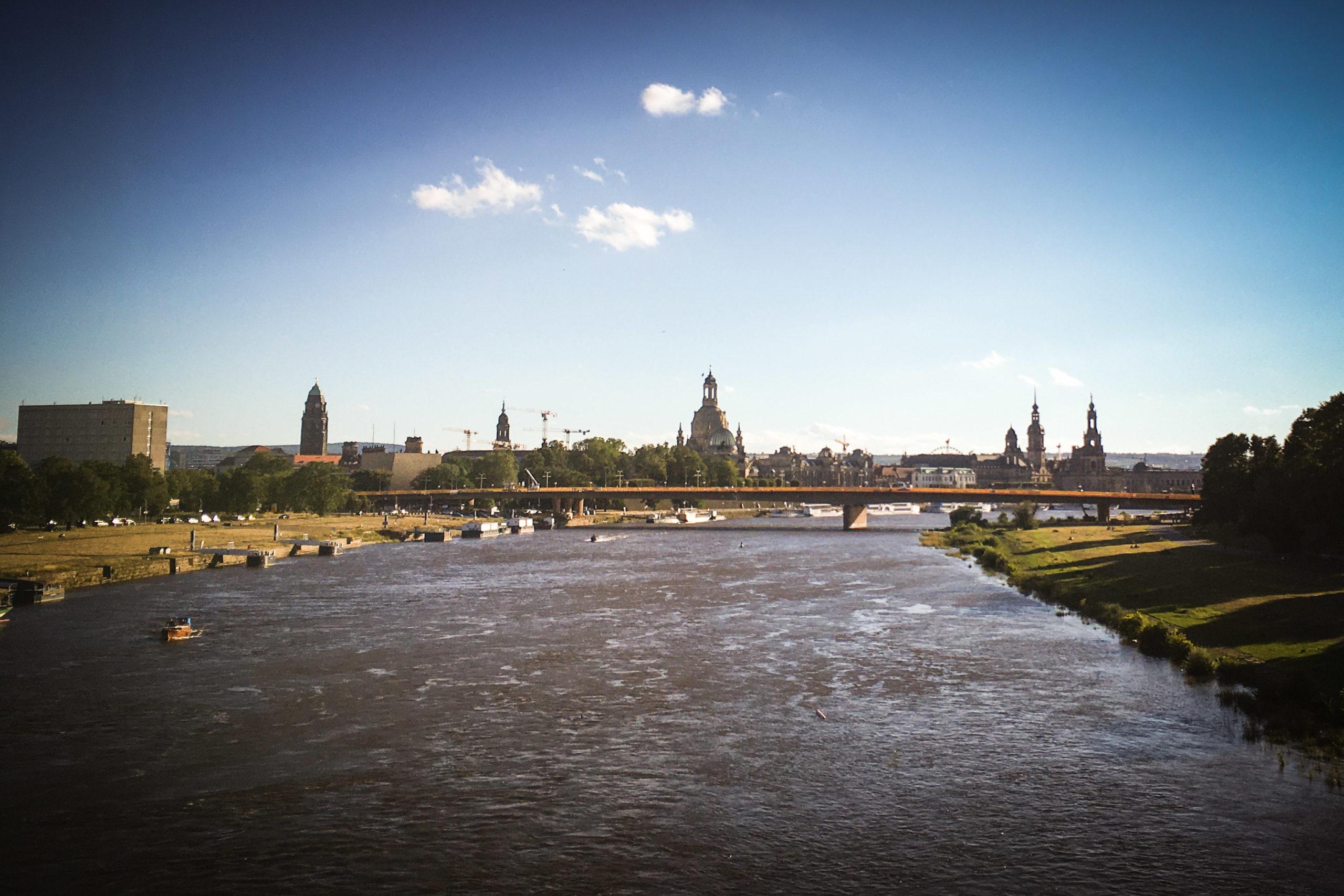unser schönes Dresden - Schlusspunkt einer wunderschönen Valtenberg-Tour