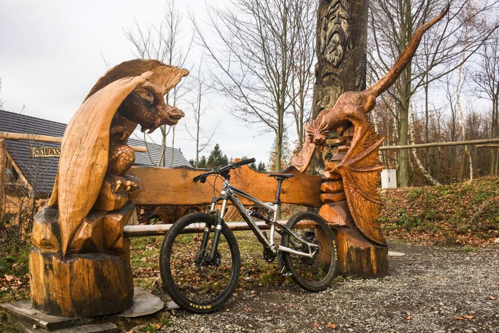 gar finstre Gestalten belagern mein Bike