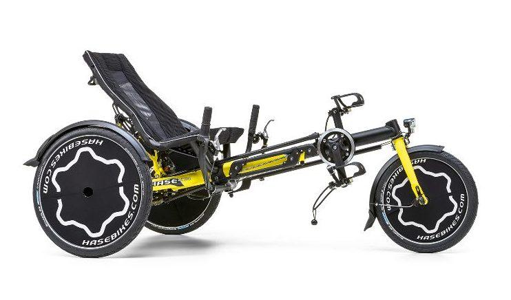 Happiness statt Handicap: TRIX, das Reha-Trike mit Fun-Faktor der Fa. Hase Bikes Bildquelle: Hase Bikes / Holger Wens