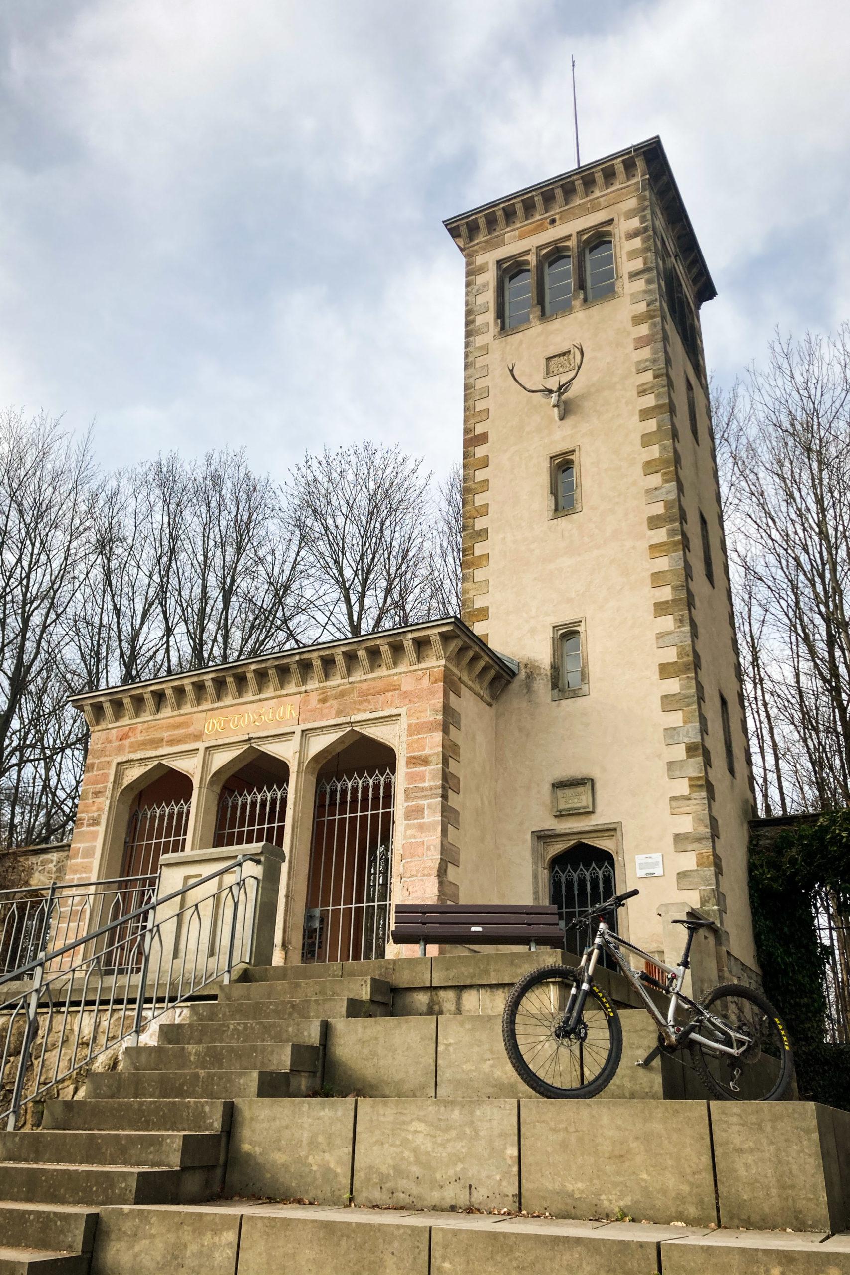 Im Schlosspark Naundorf steht Otto's Eck