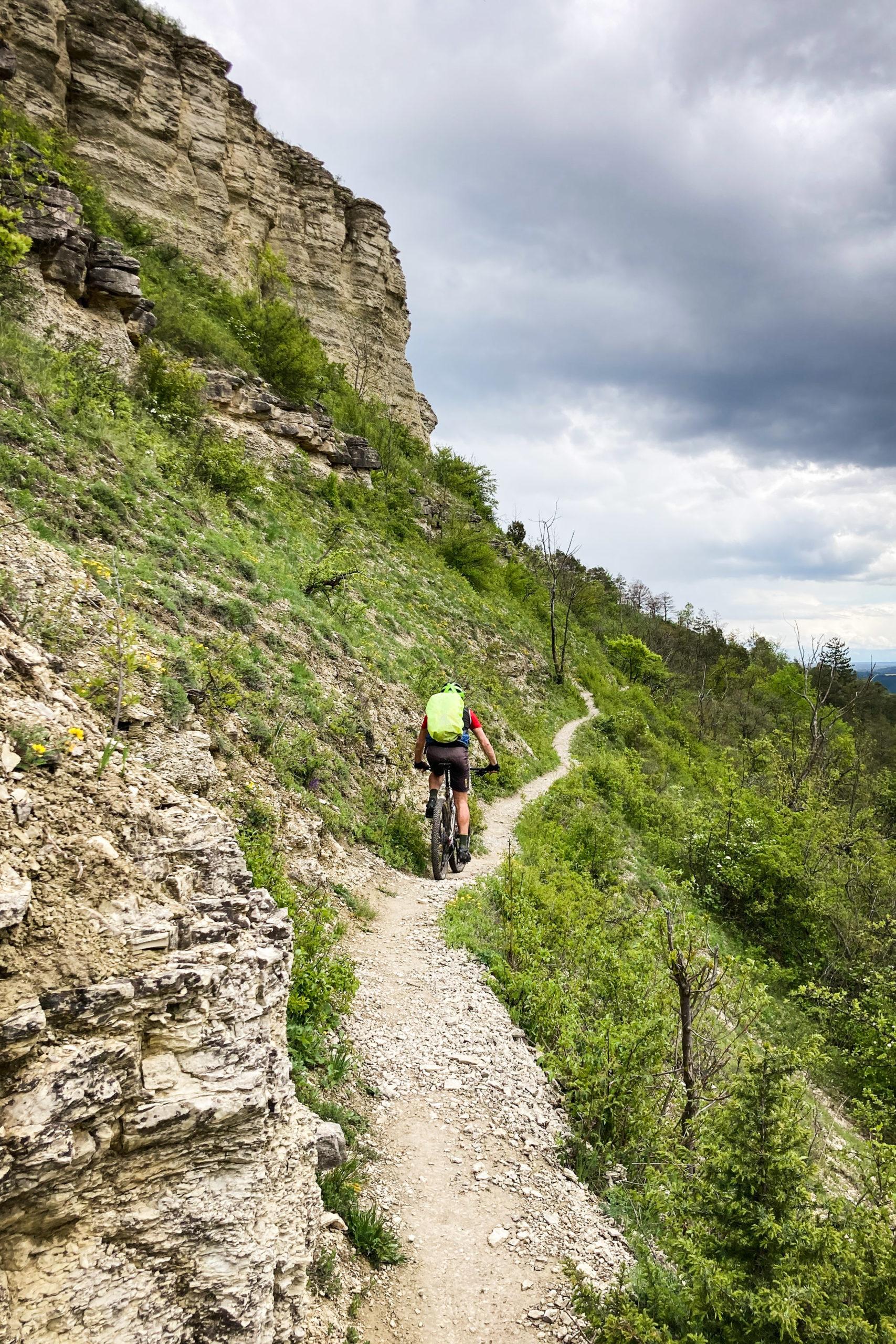 man könnte meinen, am Gardasee oder in den Dolomiten unterwegs zu sein